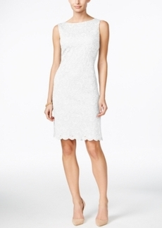 Charter Club Lace Sheath Dress, Only at Macy's