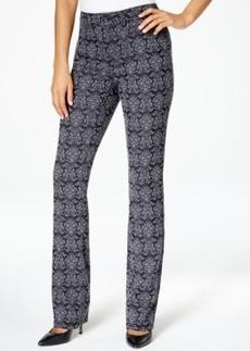 Charter Club Lexington Straight Leg Jeans, Brocade Print