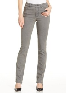 Charter Club Lexington Straight Leg Jeans, Grey Wash