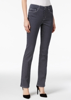 Charter Club Lexington Straight Leg Jeans, Iconic Print