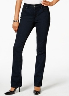 Charter Club Lexington Straight Leg Jeans, Indigo Blue Wash