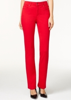 Charter Club Lexington Straight Leg Jeans, Red Amore