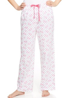 Charter Club Long Knit Pajama Pants
