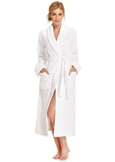 Charter Club Long Luxe Terry Robe