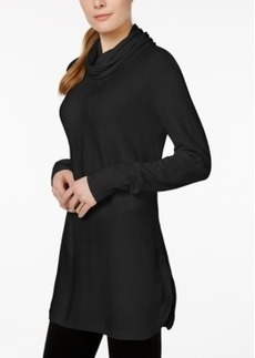 Charter Club Long-Sleeve Cowl-Neck Sweater, Only at Macy's