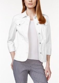 Charter Club Long-Sleeve Denim Jacket, Only at Macy's