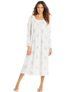 Charter Club Long Sleeve Long Gown