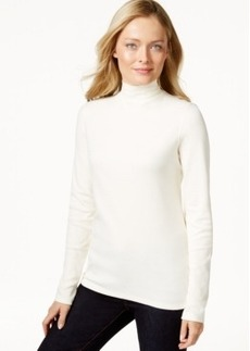 Charter Club Long-Sleeve Mock Turtleneck, Only at Macy's