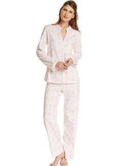 Charter Club Long Sleeve Pajama Top and Pants Set