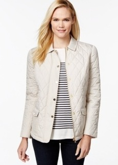 Charter Club Long-Sleeve Quilted Jacket, Only at Macy's