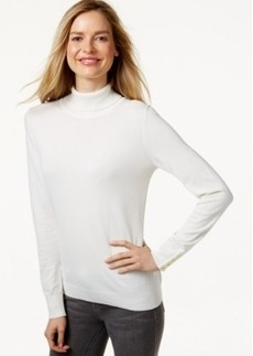 Charter Club Long-Sleeve Turtleneck Sweater, Only at Macy's