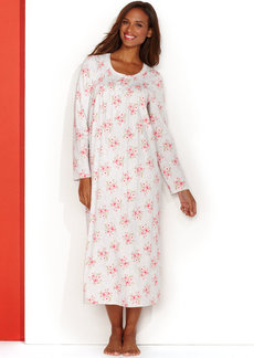 Charter Club Brushed Knit Long Gown