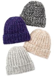 Charter Club Marled Chenille Shaker Cuff Hat