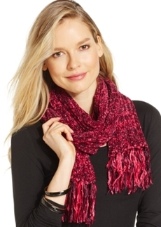 Charter Club Marled Chenille Shaker Scarf