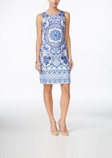 Charter Club Medallion-Print Shift Dress, Only at Macy's