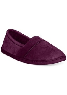 Charter Club Microvelour Closed Memory Foam Slipper, Only at Macy's