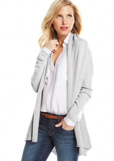 Charter Club Open Cashmere Cardigan