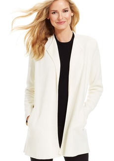 Charter Club Open-Front Duster Cardigan