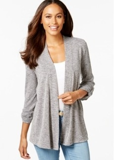 Charter Club Open-Front Swing Cardigan, Only at Macy's