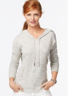Charter Club Petite Cashmere Drawstring Hoodie, Only at Macy's