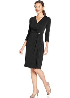Charter Club Petite Draped Dress