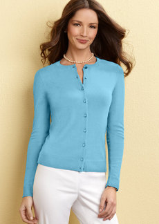 Charter Club Petite Fine-Gauge Cardigan Sweater