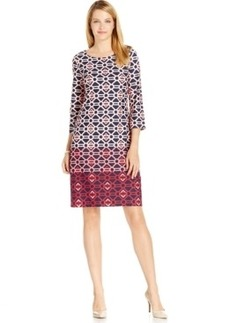 Charter Club Geo-Print Shift Dress