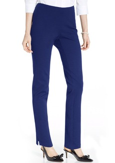 Charter Club Petite Ponte-Knit Pants
