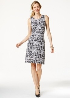 Charter Club Petite Printed Pullover Dress, Only at Macy's