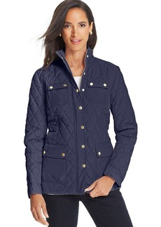 Charter Club Quilted Barn Jacket