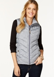 Charter Club Petite Quilted Pocket Vest, Only at Macy's