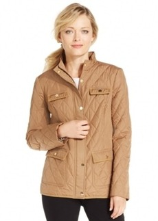 Charter Club Petite Quilted Utility Jacket