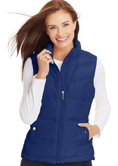 Charter Club Petite Quilted Vest