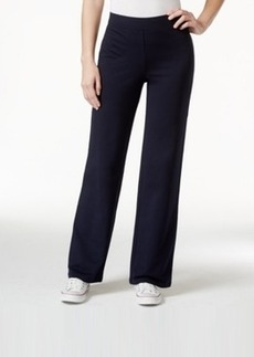 Charter Club Straight-Leg Pull-On Pants, Only at Macy's