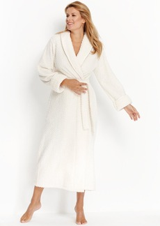 Charter Club Petite Supersoft Dimple Long Robe