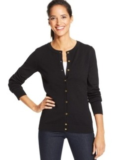 Charter Club Petite Textured Cardigan, Only at Macy's