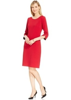 Charter Club Petite Textured Sheath Dress, Only at Macy's