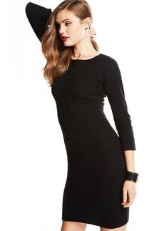 Charter Club Petite Three-Quarter-Sleeve Cashmere Sweaterdress