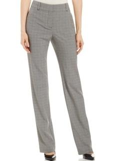 Charter Club Plaid Straight-Leg Pants, Only at Macy's