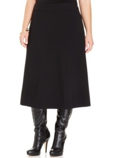 Charter Club Plus Size A-Line Midi Skirt
