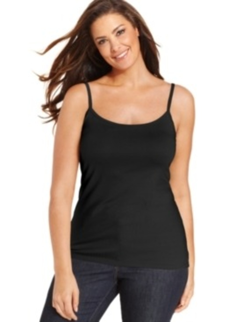 Charter Club Plus Size Layering Camisole