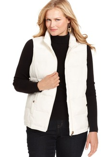 Charter Club Plus Size Puffer Vest