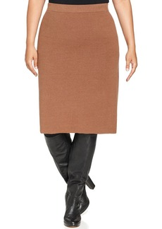 Charter Club Plus Size Pull-On Pencil Skirt