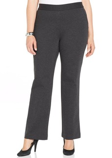 Charter Club Plus Size Pull-On Trousers