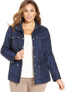 Charter Club Plus Size Quilted Jacket