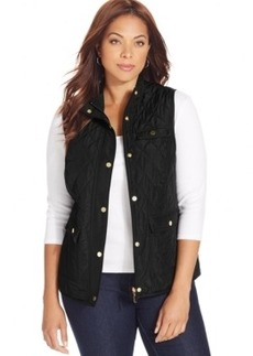 Charter Club Plus Size Quilted Vest
