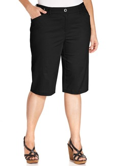 Charter Club Plus Size Skimmer Shorts