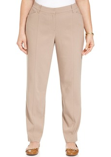 Charter Club Plus Size Slim-Leg Pants