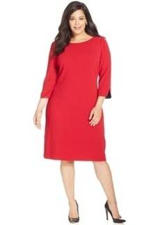 Charter Club Plus Size Solid Sheath Dress