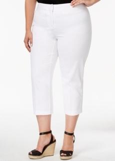 Charter Club Plus Size Straight-Leg Capri Pants
